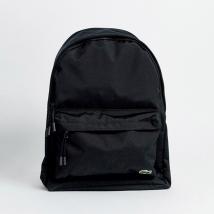 Balo Lacoste Croc Logo Backpack In Black Màu Đen