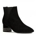 Boots Nữ Geox D CHLOO H. E Phối Thun Màu Đen Size 36