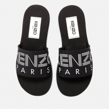 Dép Kenzo Women's Papaya Slide Sandals – Black Màu Đen
