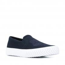 Giày Kenzo Tiger Slip-On Sneakers Màu Xanh Navy