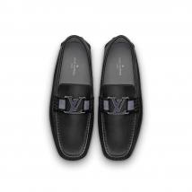 Giày Louis Vuitton Monte Carlo Mocassin Màu Đen Size 42