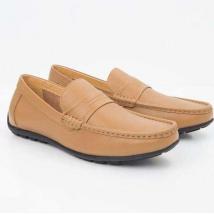 Giày Lười Sledgers Hank SM61LF26L Màu Vàng Da Bò Size 44