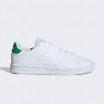 Giày Sneaker Adidas K Advantage K EF0213 Màu Trắng Gót Xanh Size 28