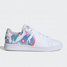 Giày Sneaker Adidas K Advantage K EF0215 Màu Trắng Họa Tiết Hoa 28