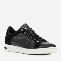 Giày Sneaker Nữ Geox D Jaysen A METAL TEXT.+SUE. Màu Đen Size 35