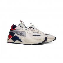 Giày Sneakers Puma RS-X Hard Drive Mens Blue & Red Size 38