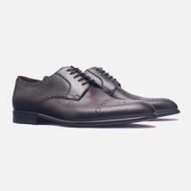Giày Tây Giovanni Cho Nam SM008-BL Màu Đen Size 38