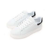 Giày Thể Thao Domba High Point White/Black H-9111 Size 40