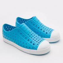 Giày Trẻ Em Native J Jefferson Junior (12100100) Ultra Blue/ Shell White – J1
