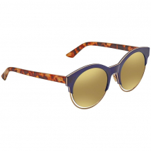 Kính Mát Dior Sideral 1 Gold Round Ladies Sunglasses
