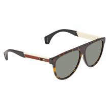Kính Mát Gucci Green Round Men's Sunglasses GG0462S 003 58