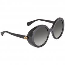Kính Mát Gucci Grey Round Ladies Sunglasses GG0367S 001 53