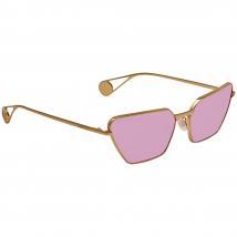 Kính Mát Gucci Pink Geometric Ladies Sunglasses GG0538S 005 63