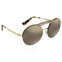 Kính Mát Prada Pale Gold Ladies Sunglasses PR 65TS ZVNODW 36