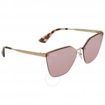 Kính Mát Prada Pink Mirror Silver Gradient Cat Eye Ladies Sunglasses PR 68TS ZVN436 63