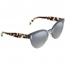 Kính Mát Prada Transparent Grey Cat Eye Sunglasses PR 04US VIP5R0 43