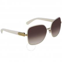 Kính Mát Salvatore Ferragamo Brown Square Sunglasses