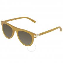 Kính Mát Salvatore Ferragamo Matte Butter Scotch Rectangular Sunglasses SF787S 729 51