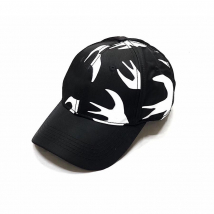 Mũ Alexander Mcqueen Black Cap Màu Đen