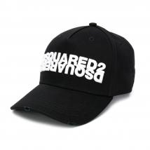 Mũ Dsquared2 Cappello Da Baseball Con Ricamo Màu Đen