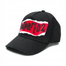 Mũ Dsquared2 Logo Cap Black Màu Đen