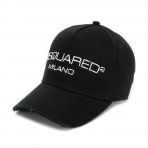 Mũ Dsquared2 Milano Baseball Cap Màu Đen