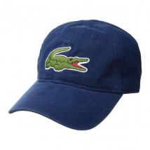 Mũ Lacoste Men's Big Croc Gabardine Cap Màu Xanh Nước Biển
