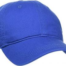 Mũ Lacoste Men's Gabardine Cap Blue
