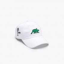 Mũ Lacoste Unisex Jeremyville Design Cotton Cap Màu Trắng