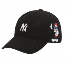 Mũ MLB Disney Ball Cap New York Yankees Màu Đen