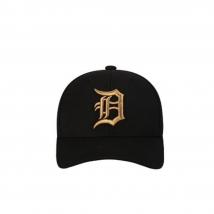 Mũ MLB Logo Chỉ Thêu 32CPIG861-46L Màu Đen