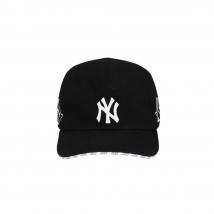 Mũ MLB Shiny Symbol Camp Cap New York Yankees Màu Đen