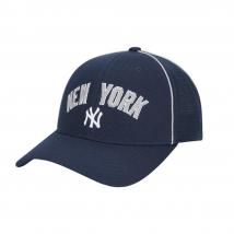 Mũ MLB Uniform Piping Curved Cap New York Yankees Màu Xanh Navy