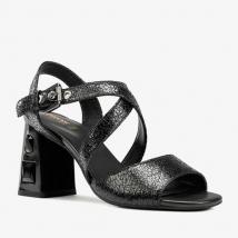 Sandals Cao Gót Nữ Geox D Seyla S.H.Plus A Màu Đen Size 35