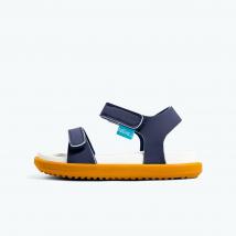 Sandals Trẻ Em Native J Charley Junior (62105500) Regatta Blue/ Shell White/ Toffee Brown – J1