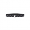 Thắt Lưng Da Louis Vuitton Ceinture Lv Initiales 40 mm Reversible Size 95