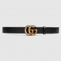 Thắt Lưng Gucci Ceinture En Cuir Avec Boucle Double G 3cm