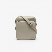 Túi Đeo Chéo Lacoste Men's Classic Petit Pique Double Bag Peacoat Gray