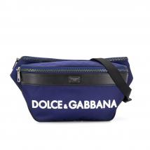 Túi Đeo Hông Dolce & Gabbana Belt Bag Màu Xanh Navy