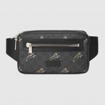 Túi Đeo Hông Gucci Bestiary Belt Bag With Tigers Màu Xám Đen
