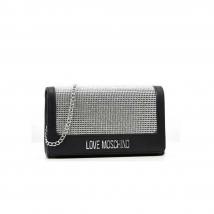 Túi Đeo Vai Moschino Cross Body Bag Black With Decorative Studs 4055 Màu Đen