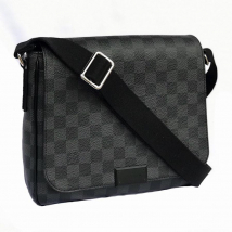 Túi Louis Vuitton District Damier Messenger Bag Màu Đen