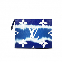 Túi Louis Vuitton Escale Toiletry Pouch 26 Monogram Màu Xanh Blue