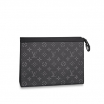 Túi Louis Vuitton Voyaga MM Monogram Eclipse Canvas Clutch