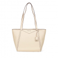 Túi Tote Michael Kors Whitney Small Leather Tote- Oat  Màu Trắng