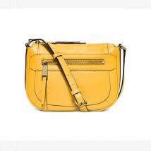 Túi Xách Michael Kors Julia Medium Messenger Leather Crossbody Bag Purse Handbag Màu Vàng