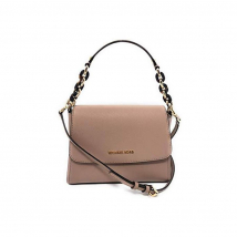 Túi Xách Michael Kors Sofia Small East West Saffiano Leather Satchel Crossbody Màu Be