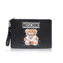 Ví Cầm Tay Moschino Teddy Bear Black Large Clutch Màu Đen