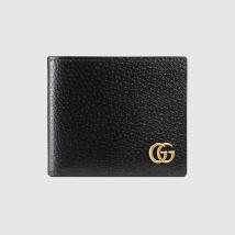 Ví Gucci Marmont Leather Bi-Fold Wallet Màu Đen