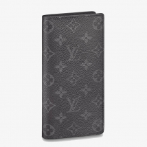 Ví Louis Vuitton Brazza Wallet Canvas Màu Đen